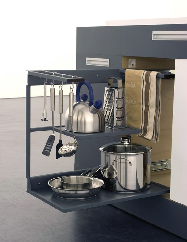Compact Kitchen Designs For Small Spaces   Everything You Need In One  Single Unit