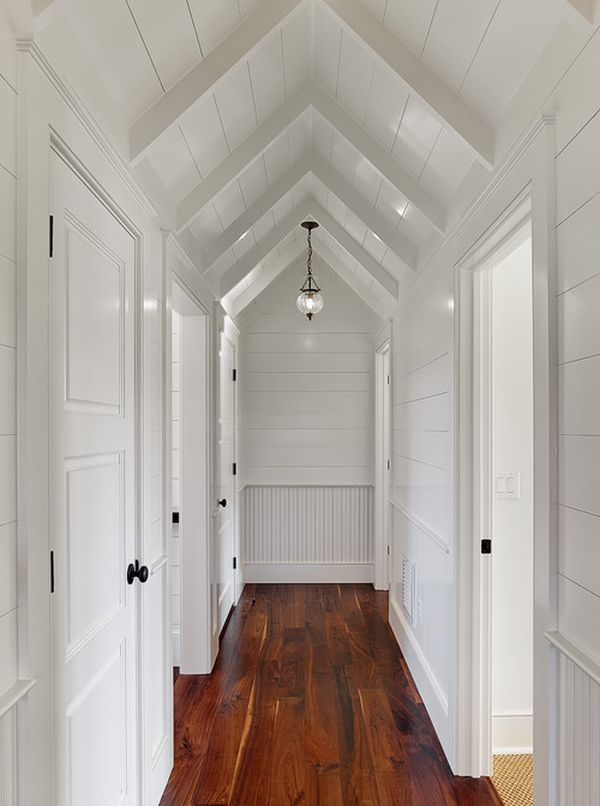 ideas for finished attics - Easy Ways To Make Your Hallways Look Bigger & Brighter
