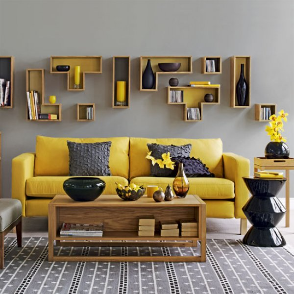 Living Room Decor Yellow mixing in some mustard: yellow ideas & inspiration