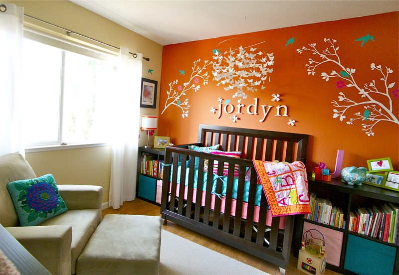 Baby Room Office Combination