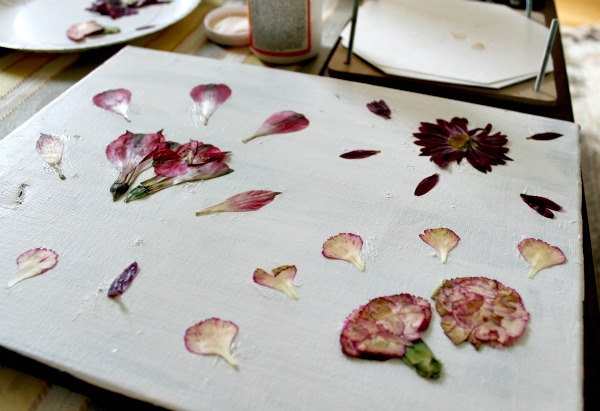 Pressed Flowers Canvas