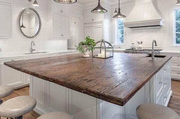 20 unique countertops guaranteed to make your kitchen for Best material for kitchen counters