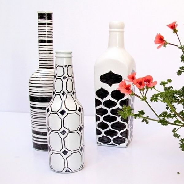 Easy, Recycled Bottle DIYs