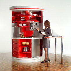Compact Kitchen Designs For Small Spaces U2013 Everything You Need In One  Single Unit Design
