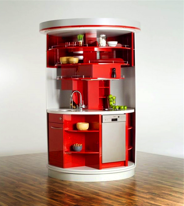 Superb Compact Kitchen Designs For Small Spaces U2013 Everything You Need In One  Single Unit