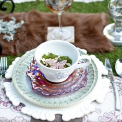 Garden Place Settings Ideas Inspiration