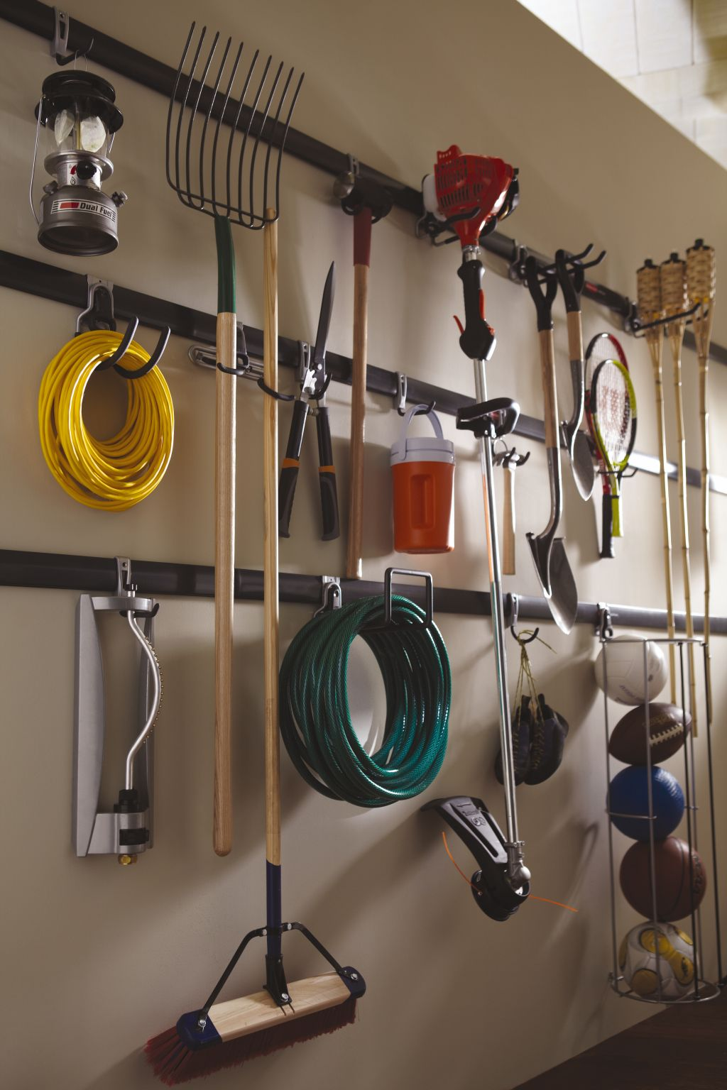 walls tool ideas organize storage diy organization brilliant galvanized garage