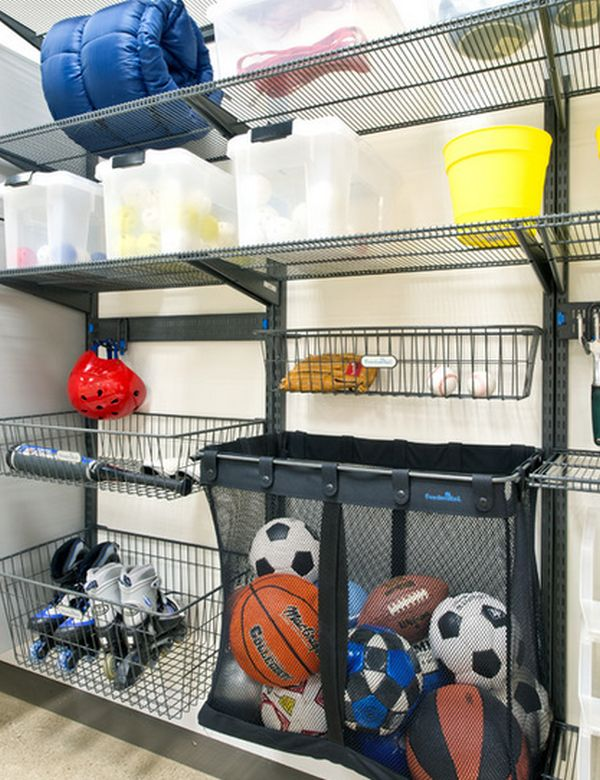 garage sports storage time to sort out the mess 20 tips for a well organized 15731