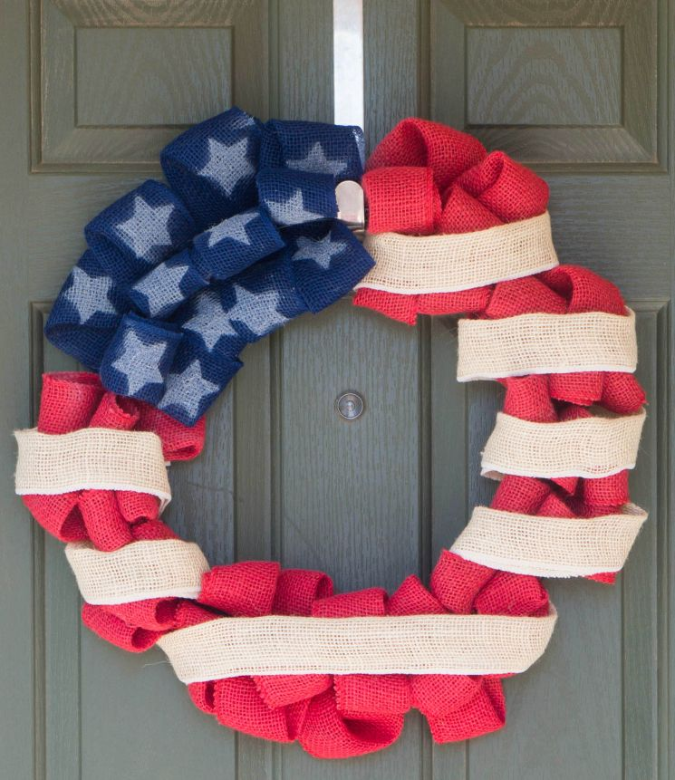 Festive July 4th Diy Wreaths Easy Simple Amp Inspired