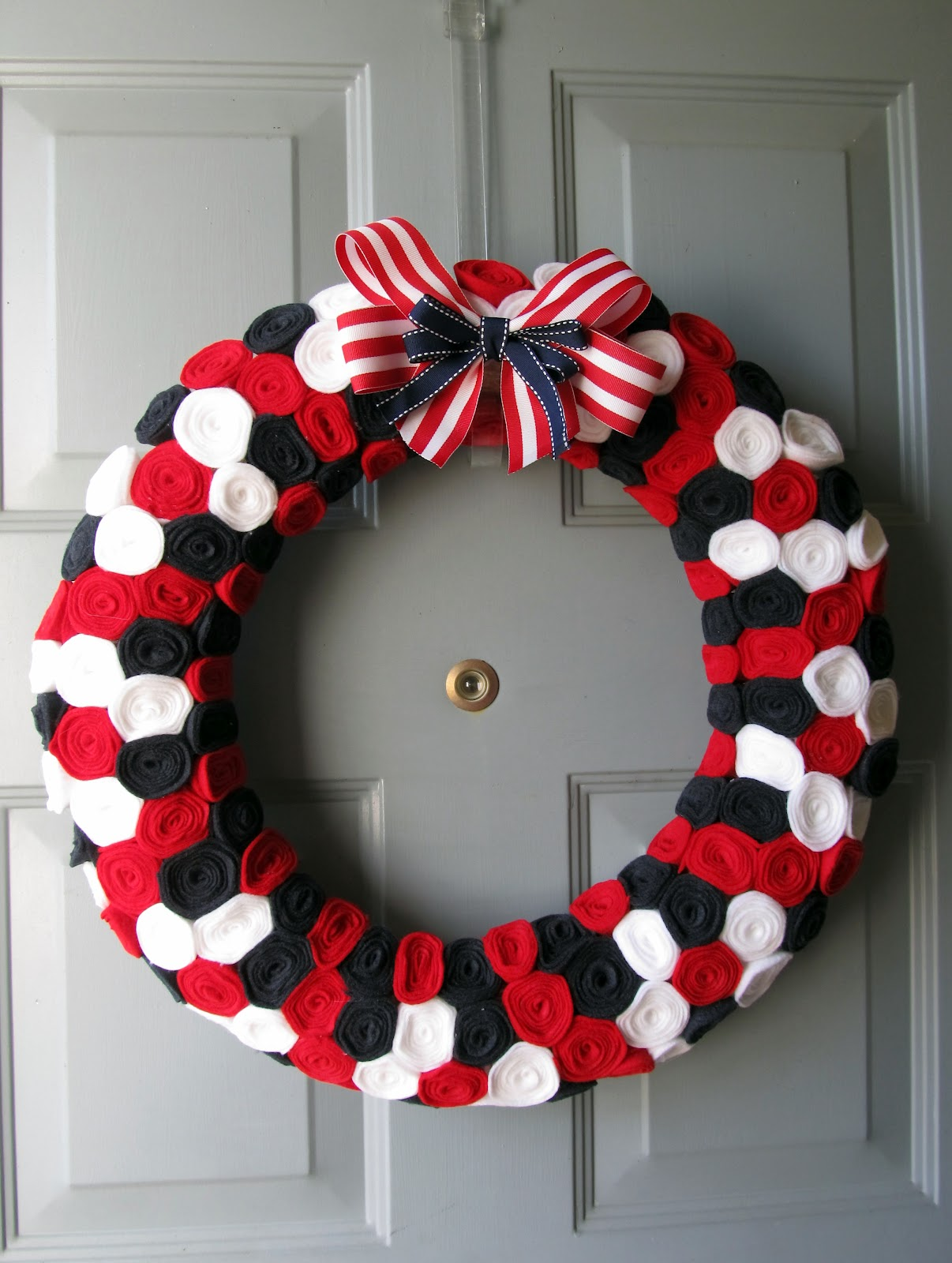 Festive July 4th Diy Wreaths Easy Simple Amp Inspired