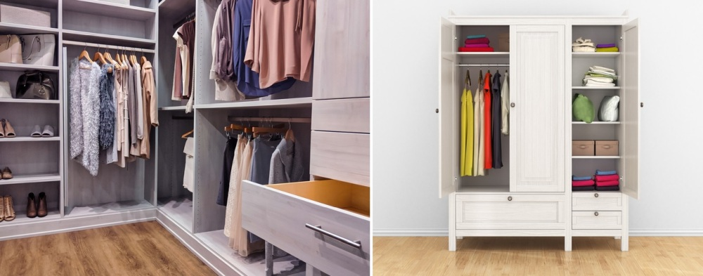 Closet vs. Wardrobe