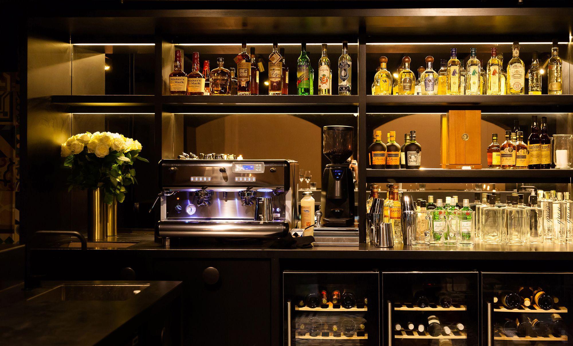 How a dark basement became a flamboyant restaurant with a for American cuisine restaurants