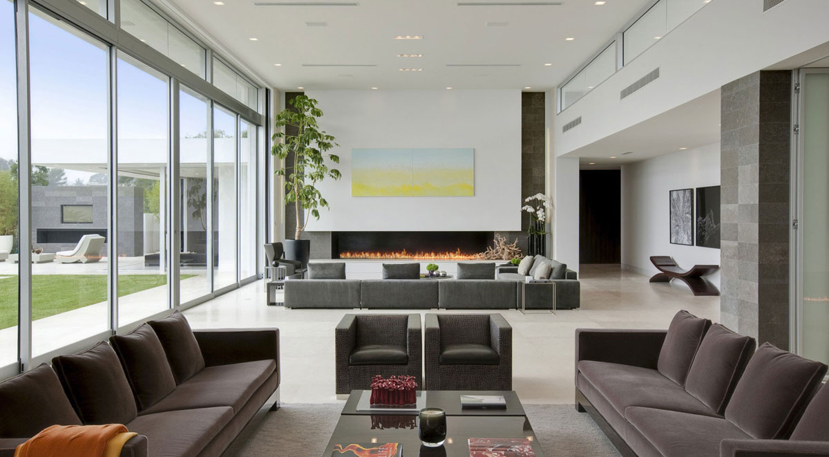 Heavenly Beverly Hills House Featuring A Vibrant Natural Design