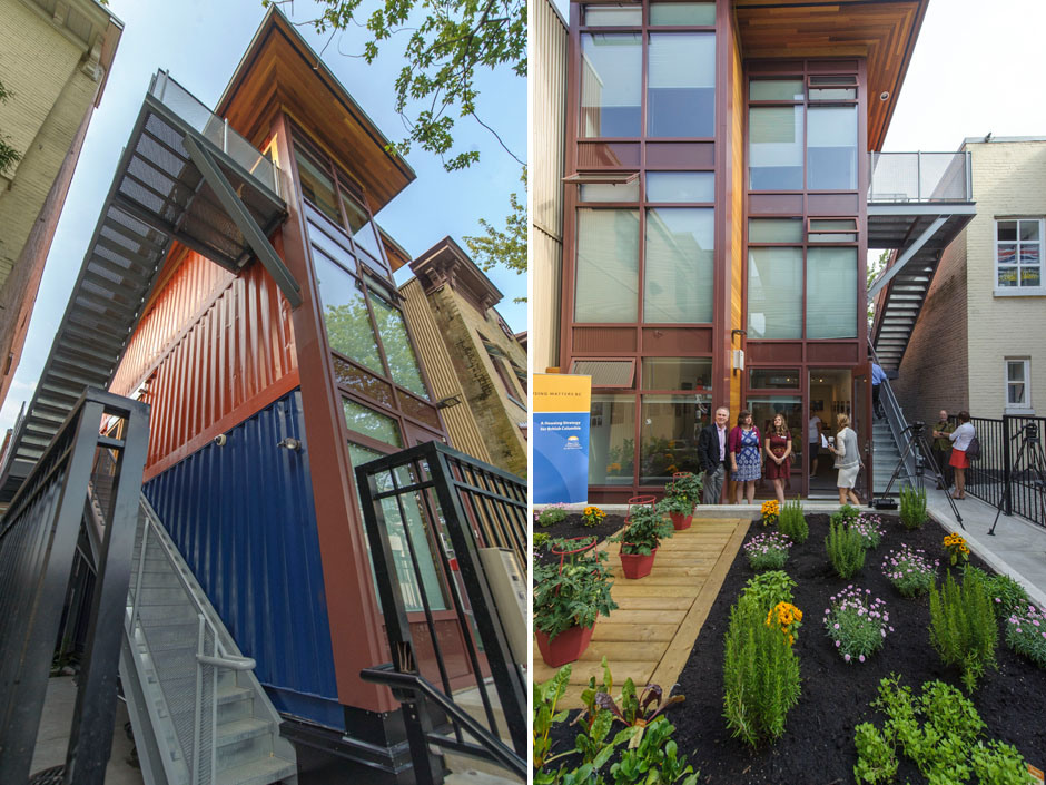 Upcycled Shipping Containers Affordable Housing for Low Income