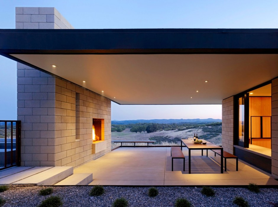 covered patio designs with fireplace stand alone eyecatching modern outdoor fireplaces turn the patio into dreamy retreat