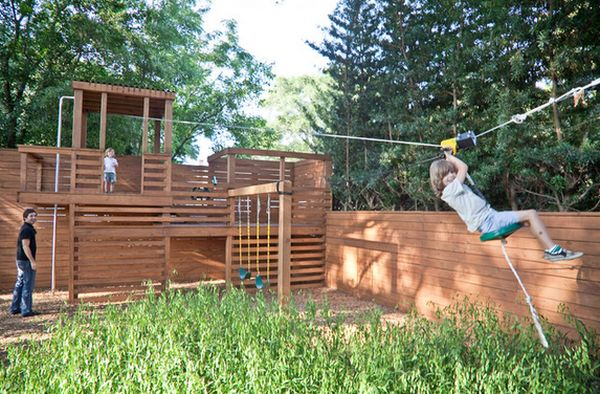 View in gallery - Turning The Backyard Into A Playground – Cool Projects Kids Will