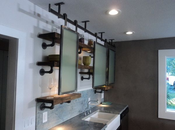 15 Uses For Pipe Shelving Around The House : bathroom pipe shelving from www.homedit.com size 600 x 446 jpeg 33kB