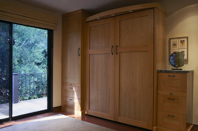 Cupboard Ideas For Small Bedrooms maximize small spaces: murphy bed design ideas