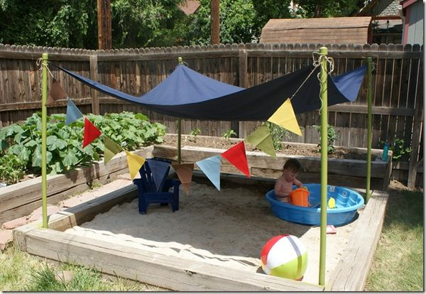 beach style fun - Garden Ideas For Toddlers