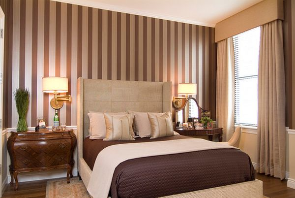 Decorate Your Walls With Vertical Stripes