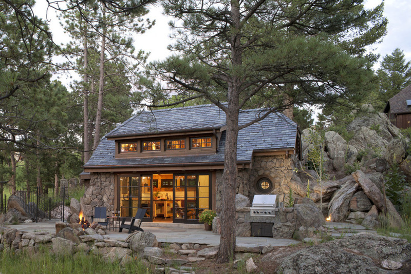 charming rustic cottage inspired by fairy tales