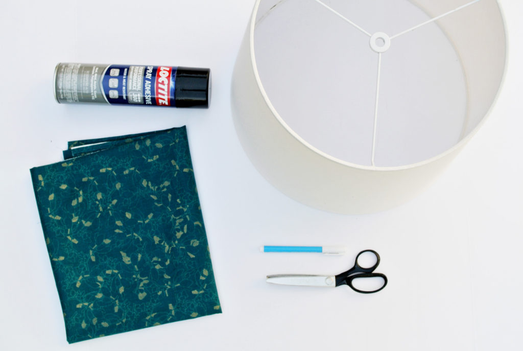 fabric lampshade cover supplies