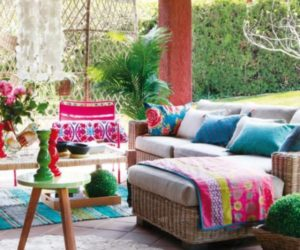 Colorful & Youthful Back Patios