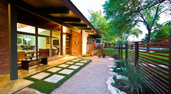 Forget The Traditional Look Modern Front Yard Landscaping Ideas