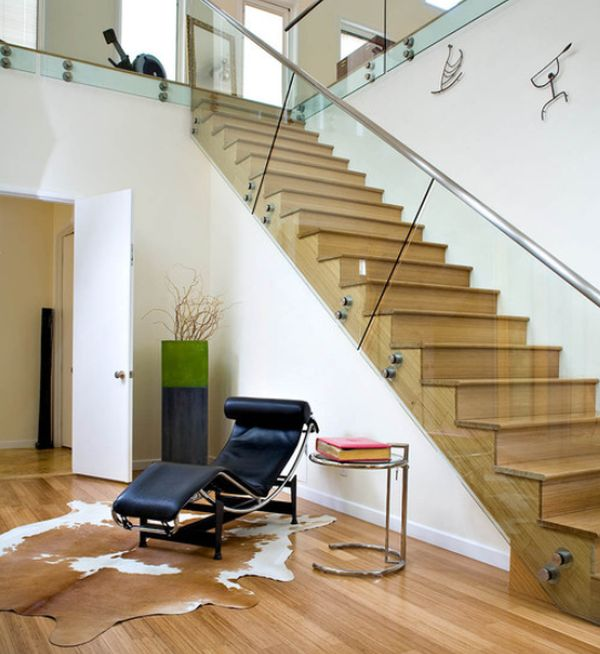 Attrayant 20 Glass Staircase Wall Designs With A Graceful Impact On The Overall Decor