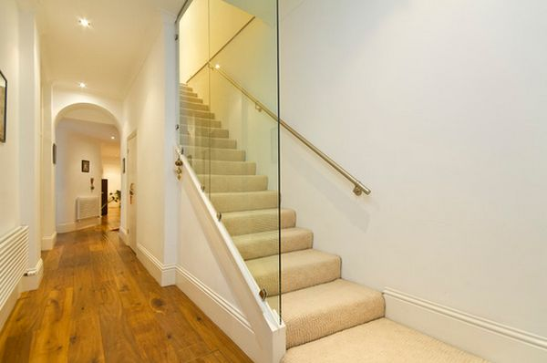 20 Glass Staircase Wall Designs With A Graceful Impact On The ...