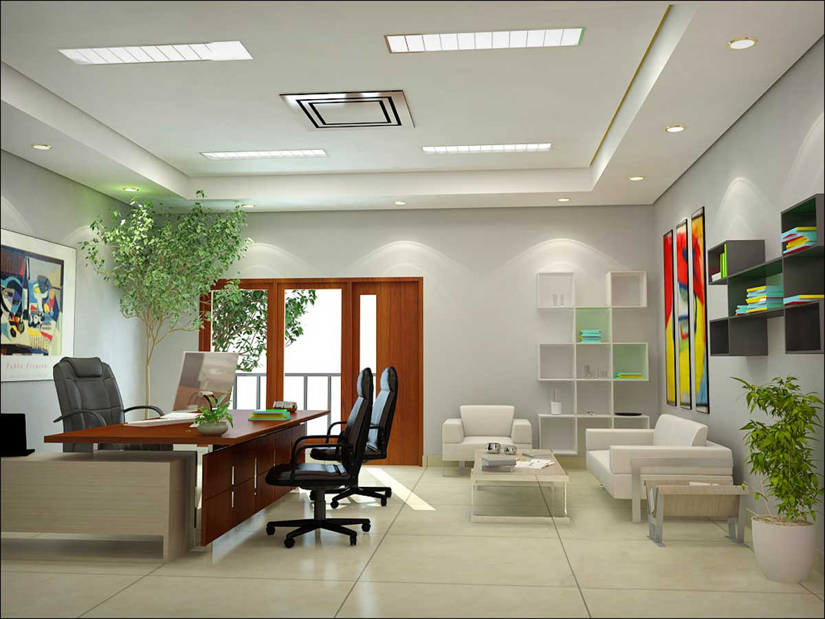 Work it out using feng shui in the office for Design your office online