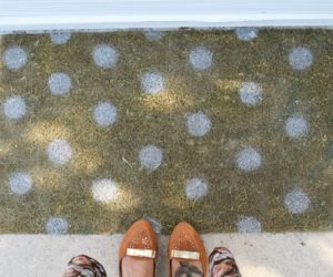 DIY Painted Doormat