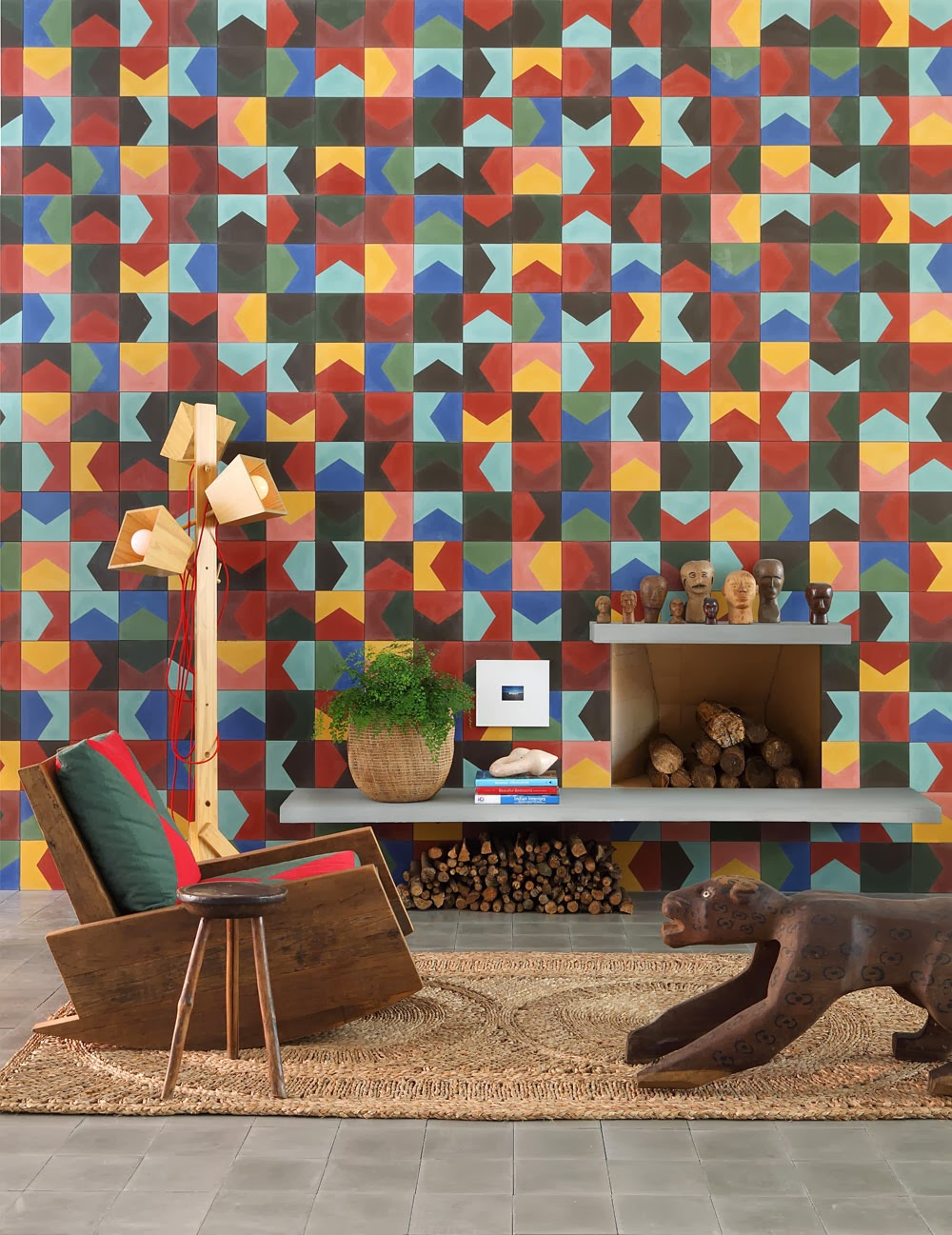 Patchwork Tiles - Mix And Match Your Favorite Colors For A ...
