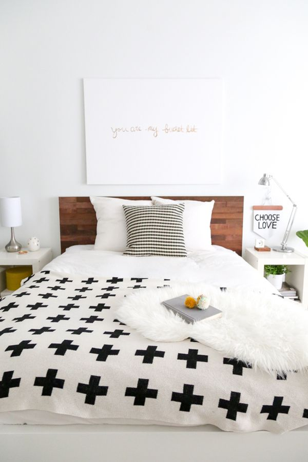 How To Achieve Harmony In A Small Bedroom With Diy Projects