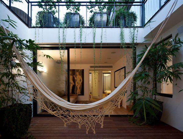 transitional framed living art hammock table modern design room blue side org balcony chair with sky czmcam interior view beach
