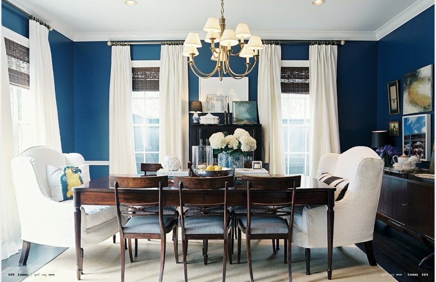 15 tips on how to make your ceiling look higher for What size dining table for 10x10 room