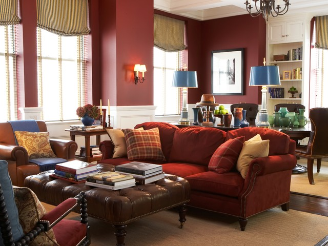 cranberry living room dipped in cranberry monochromatic rooms 11082