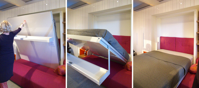 Maximize small spaces murphy bed design ideas - Tv small spaces design ...