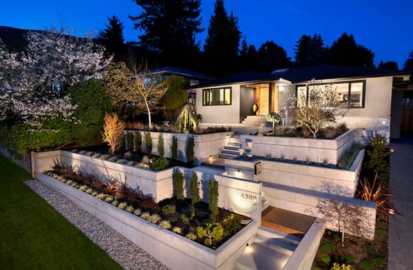 Modern Front Yard Garden Ideas forget the traditional look – modern front yard landscaping ideas