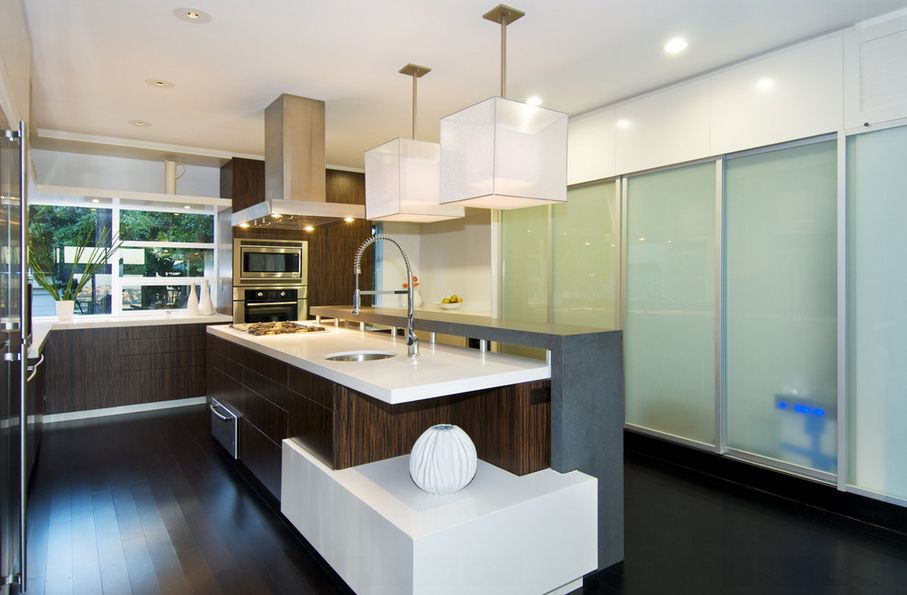 modern kitchen pendant lighting for a trendy appeal