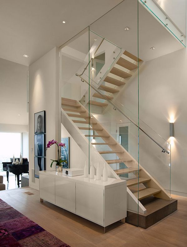 Modern Glass Staircase Design. Home Decorating Trends Homedit