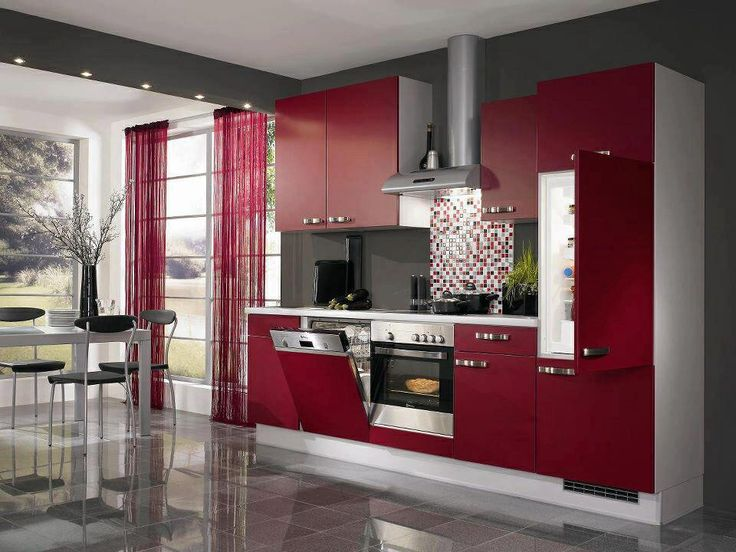 Dipped In Cranberry Monochromatic Rooms