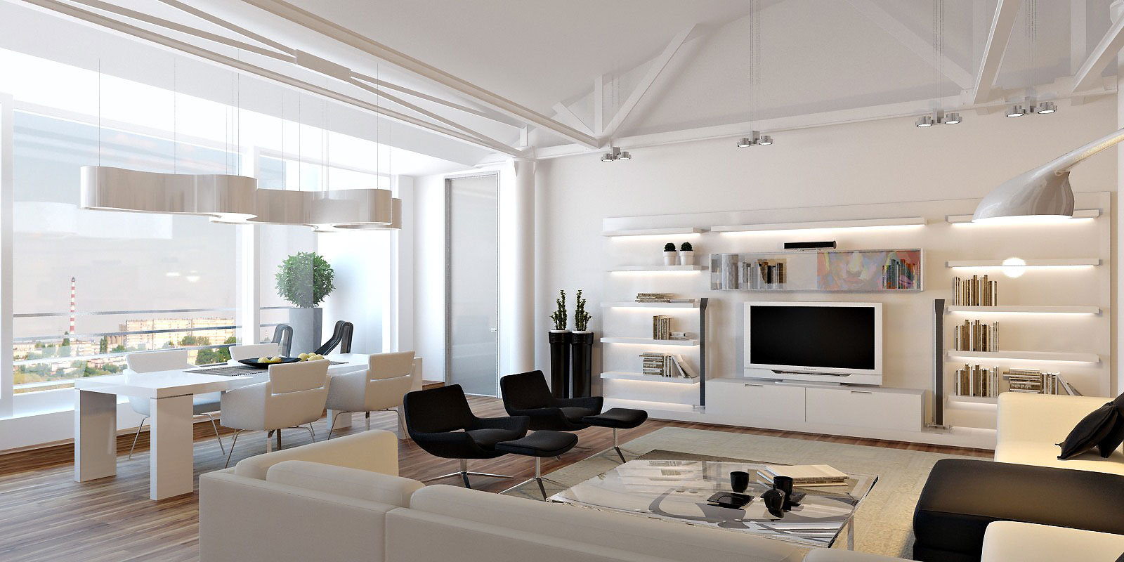 The pros and cons of living in a loft for Modern interior designs 2016