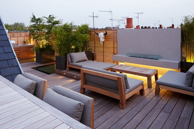 Urban jungle how to turn your terrace into an oasis for Terrace kitchen garden ideas