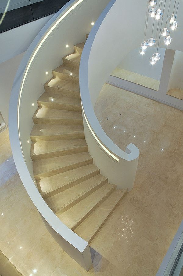 Modern Lighting Ideas That Turn The Staircase Into A