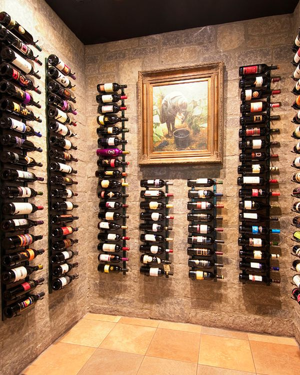 Quick tips on displaying storing organizing your wine for Wine shop decoration