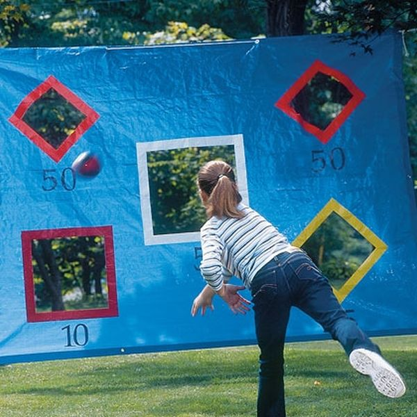 homemade outdoor games for kids. Passing Practice Wall. Homemade Outdoor Games For Kids