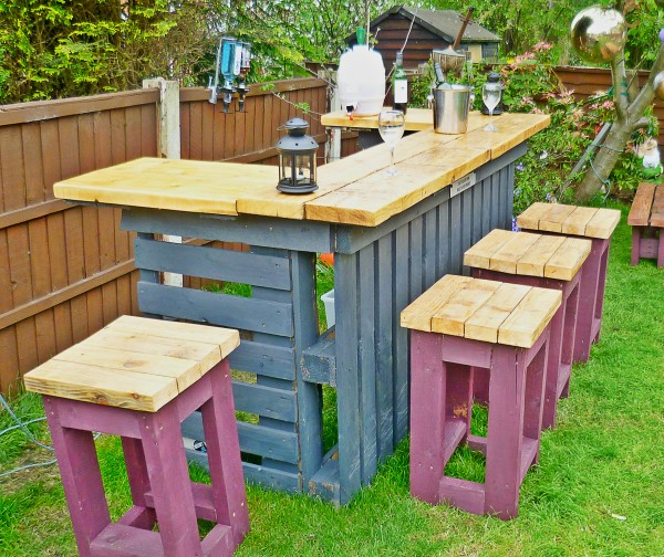 easy diy patio furniture projects you should already start planning - How To Make Garden Furniture Out Of Pallets