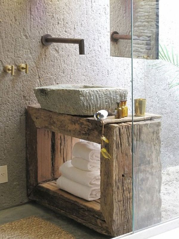 View in gallery. Concrete Bathroom Sinks That Make A Strong Statement Without Any Fuss