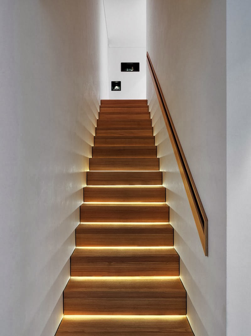 staircase ideas modern lighting ideas that turn the staircase into a centerpiece 4594